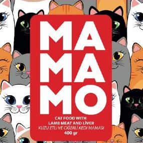 Mamamo Kuzu Etli ve Ciğerli Kedi Maması