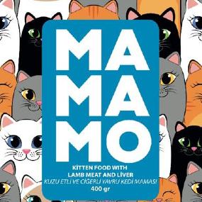 Mamamo Kuzu Etli ve Ciğerli Yavru Kedi Maması