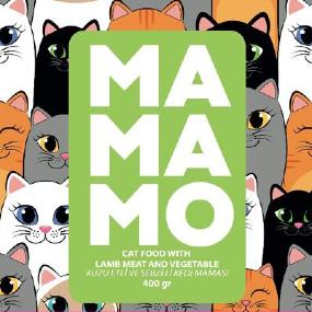 Mamamo Kuzu Etli ve Sebzeli Kedi Maması