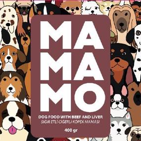 Mamamo Sığır Etli ve Ciğerli Köpek Maması