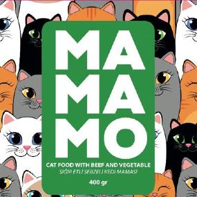 Mamamo Sığır Etli ve Sebzeli Kedi Maması