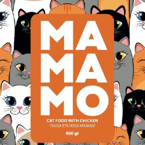 Mamamo Tavuk Etli Kedi Maması