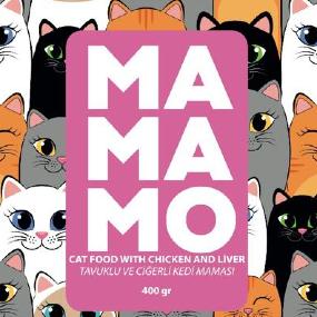 Mamamo Tavuk Etli ve Ciğerli Kedi Maması